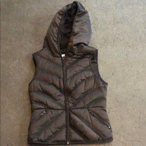 Blanc Noir - Carbon38 down vest - S